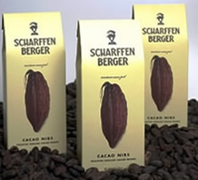 Scharffen Berger Gourmet Chocolate - Roasted Cocoa Nibs Box, 170g/6.0oz.(3 Pack)