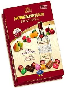 Schladerer Pralines - Fruit Brandies Assortment, 255g / 9.0 oz.