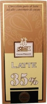 Slitti Chocolate Bars - �Latte�