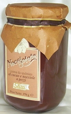"Slitti Italian Chocolate - ""Nocciolata"" Piedmont Hazelnuts IGP Spread, 300 grams (Single)"