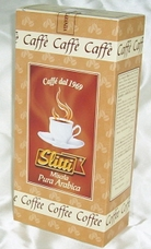 Slitti Italian Coffee - 100% Arabica Coffee Vacuum Packed, 8.8oz./250g.