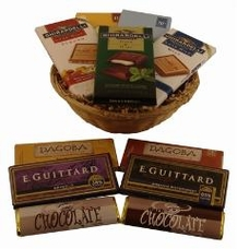 "Small ""American Chocolate Gift Basket"""