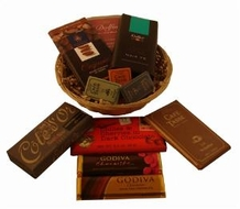"Small ""Belgian Chocolate Gift Basket"""