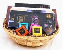 """Small """"French Chocolate Gift Basket"""""""