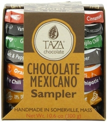 Taza Chocolate Mexicano Sampler Organic Chocolate , 10.8oz/308g