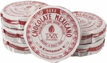 Taza Cinnamon 50% Dark Chocolate Mexicano, Organic, 77g/2.7oz (6 Pack)