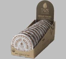 Taza Coffee 55% Dark Chocolate Mexicano, Organic, 77g/2.7oz (12 Pack)