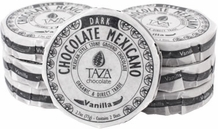 Taza Vanilla 50% Dark Chocolate Mexicano, Organic, 77g/2.7oz (12 Pack)