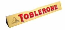 Toblerone- Milk Chocolate with Honey and Almond Nougat, 14.1oz/400g (4 Pack)
