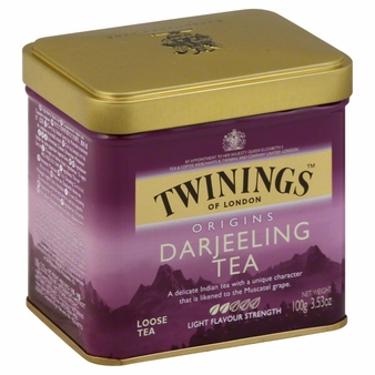 Twinings-Darjeeling Tea, Loose Tea, 3.53oz/100g (Single)