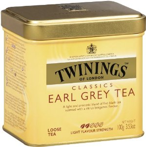 Twinings- Earl Grey Tea, Loose Tea, 3.53oz/100g (Single)