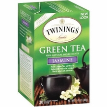 Twinings-Green Jasmine Tea 20 ct box, 1.41oz/40g (Single)