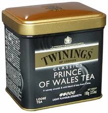 Twinings- Prince Of Wales Tea, Loose Tea, 3.53oz/100g (6 Pack)