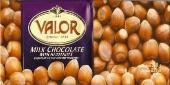 "Valor ""Chocolat Au Lait Avec Des Noisettes"" Milk Chocolate with Hazelnuts, 250g/8.75oz."