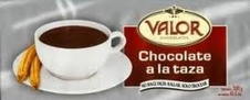 "Valor Chocolate - ""Chocolate A La Taza Bar"" Spanish Drinking Chocolate, 300g/10.5oz."