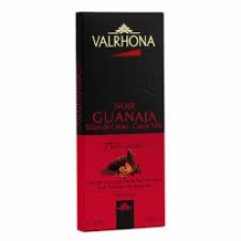 "Valrhona Chocolate - ""Guanaja Grue"", Dark Chocolate with Cocoa Nibs, 70% Cocoa, 85g/2.99oz  (Single)"