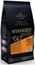 "Valrhona Chocolate - ""Les Feves"" ""Nyangbo"" 68% Cocoa, 3kg/6.6lb"