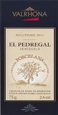 "Valrhona Chocolate - Vintage 2014 ""El Pedregal PORCELANA Bar"", 75g./2.6oz. (5 Pack)"
