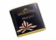 Valrhona French Chocolate - Bulk Squares Manjari 64% Cocoa, 12ct/bg(Single)