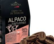 "Valrhona French Chocolate - ""Les Feves"" Grand Cru de Terroir ""Alpaco - Ecuador "" Dark Chocolate 66 % Cocoa, 3kg/6.9lbs."