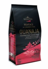 "Valrhona French Chocolate - ""Les Feves"" Grand Cru Guanaja 70% Cocoa, 3kg/6.6lbs."