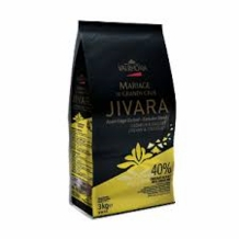 "Valrhona French Chocolate - ""Les Feves"" Grand Cru Jivara Lact�e Milk Chocolate 40 % Cocoa, 3kg/6.6lbs."