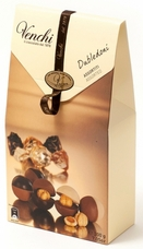 "Venchi Chocolate ""Assorted Dubledoni"" - Assorted Chocolates with One Whole Hazelnut - Gluten Free - 200g/7.05oz (Single)"