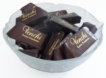 "Venchi Chocolate - ""Giandujotto Extra Fondente"" - Gianduja Extra Dark Chocolate, 22 Piece Bag (Single)"