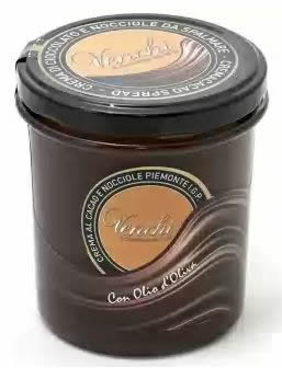"Venchi Gianduja Cream Spread of Piedmont Hazelnuts, ""Crema Cioccolato e nocciole"", 350g/12.3oz (Single)"