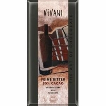 Vivani Organic Chocolate - 100% Organic Dark Chocolate with 85% Cocoa, 100g/3.5oz. (10 Pack)