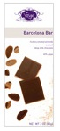 Vosges-Barcelona Bar Hickory Smoked with Almonds Sea Salt deep Milk Chocolate 45% Cacao 3oz/85g (6 Pack)
