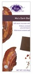 Vosges-Mo's Dark Bar 62% Dark Chocolate with Hickory Smoked uncured Bacon Alderwood smoked salt 3oz/85g (12 Pack)