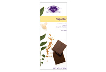 Vosges-Naga Bar Sweet Indian Curry Coconut Deep Milk Chocolate 45% Cacao 3oz/85g