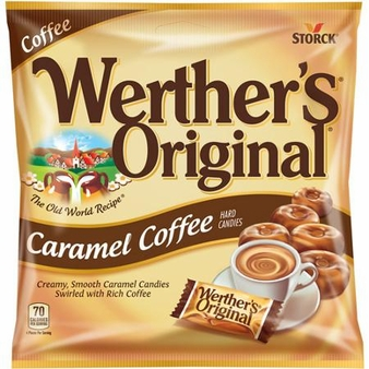 Werthers Original,Caramel Coffee (6 Pack)