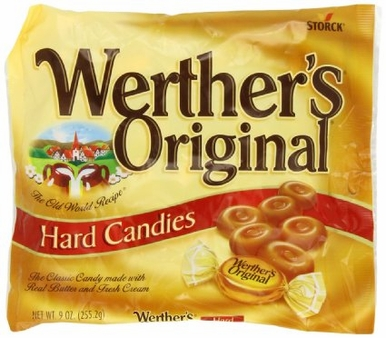 Werthers Original,Caramel Hard Candies(Single)