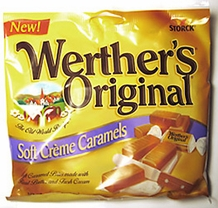 Werthers Original, Soft Cre'me Caramels (Single)