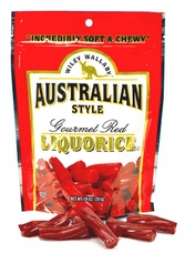 Wiley Wallaby Australian Style Liquorice -  Gourmet Red, 10oz/284g (Single)
