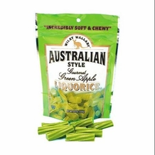 Wiley Wallaby Australian Style Liquorice -  Green Apple, 10oz/284g (Single)