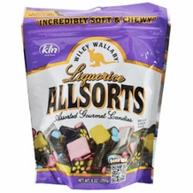 Wiley Wallaby Liquorice Allsorts - Assorted Gourmet Candies, 10oz/284g (Single)