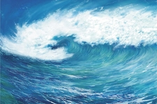 Kids Mural - Ocean Wave - 96x144 in.