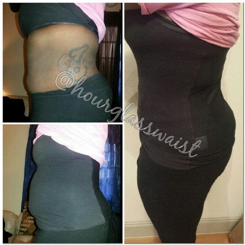 Before and After Sport Cincher