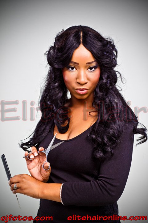 Invisible Part Sew In Curly Hair Sew-In  Invisible Part