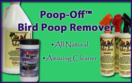 Poop-Off Bird Poop Cleaners image