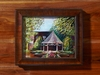 "Cassy Tully Fine Art Original Painting ""Wedding Gazebo"""
