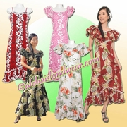 Full Length Hawaiian Muumuu Dresses