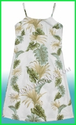 Girl Sun Dress - 438White