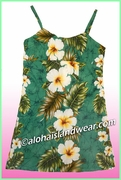 Girl Sun Dress - 449Green