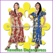 Hawaiian Elegant Dress