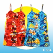 Hawaiian Girl Sun Dress - 304
