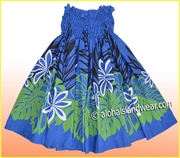 Hula Pa'u Skirt - Navy